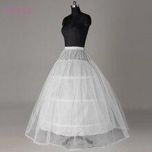 Горячая Распродажа, дешевая цена, белая, 3 кольца, Нижняя юбка для свадьбы, свадебное платье, кринолин, свадебные аксессуары