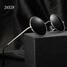 JAXIN Retro Round Sunglasses Men personality Fashion handsom