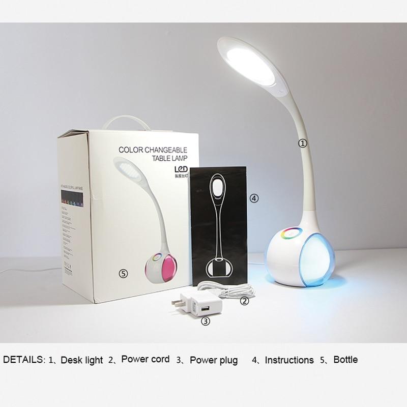 34 led LED stikalo LED Touch Prožna namizna svetilka 3-stopenjsko - Notranja razsvetljava - Fotografija 2