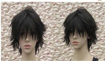 Death Note L Short Black Gradation Cosplay Hair Wig On Aliexpress