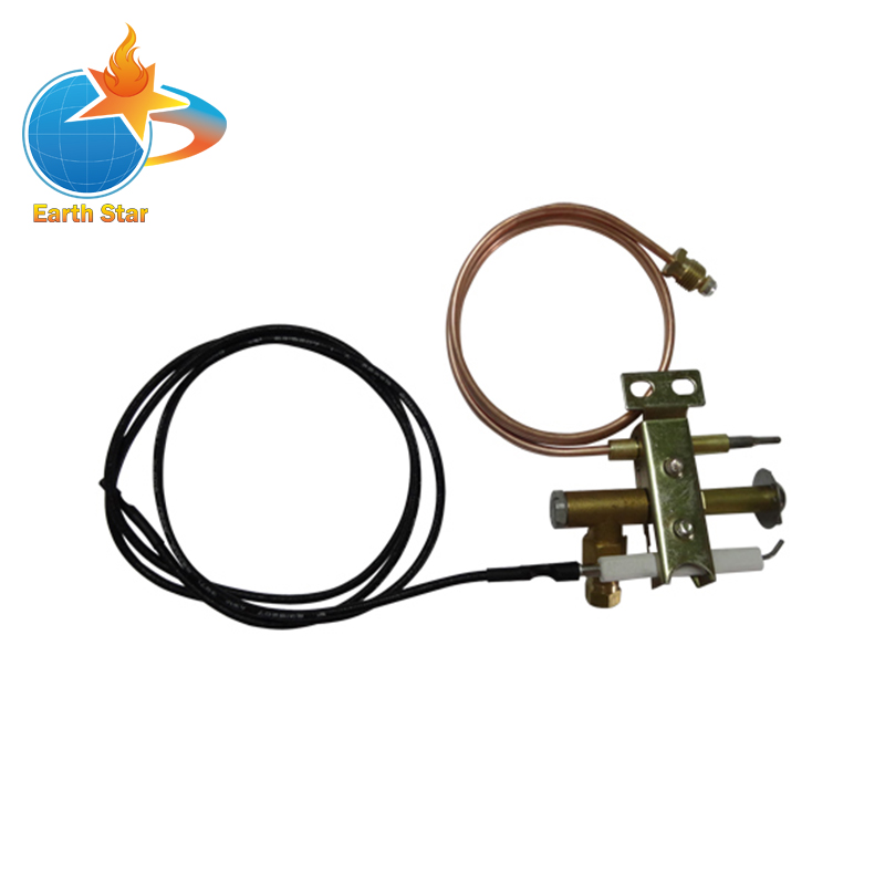 цена на EARTH STAR Gas fryer Universal Pilot burner with 900mm piezo wire and thermocouple M9X1 thread