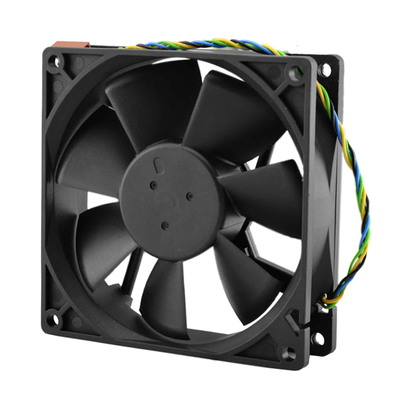 90*90*25MM DC 12V 0.60A 4-pin computer cpu cooling fans 90