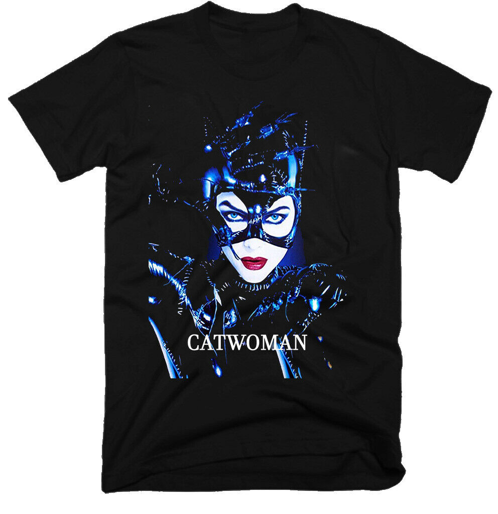 CATWOMAN, OLD MOVIE ,2004 ,100% COTTON ,MENS T-SHIRT , G0034 T-Shirts 2019 Brand Clothes Slim Fit Printing image