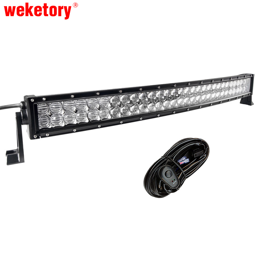 5D 32 inch 300W Curved LED Work Light Bar for Tractor Boat OffRoad 4WD 4x4 Truck