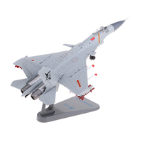 1:100 Alloy Chinese Navy J 15 Carrier Aircraft Model Airplane Fighter Toy Model Diecast Plane Model Toy Home Decoration Gift
