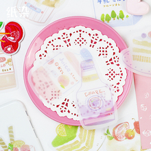 20 set/lot Memo Pads Sticky Notes Zephyr snack series Paper diary Scrapbooking Stickers Office School stationery Notepad