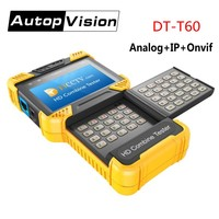 DT T60 4.0 дюймов 1080 P HD CCTV Камера тестер IP аналоговый Камера тестер монитор Поддержка IPC + CVBS/ONVIF /12 В 1A Мощность Выход