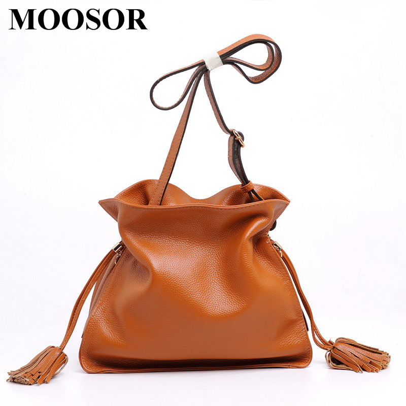 Здесь можно купить   New Arrival Genuine Leather Women Bags Crossbody Bags High Quality 6 Colors Fashion Female Shoulder Bags Women Handbags HB28 Камера и Сумки