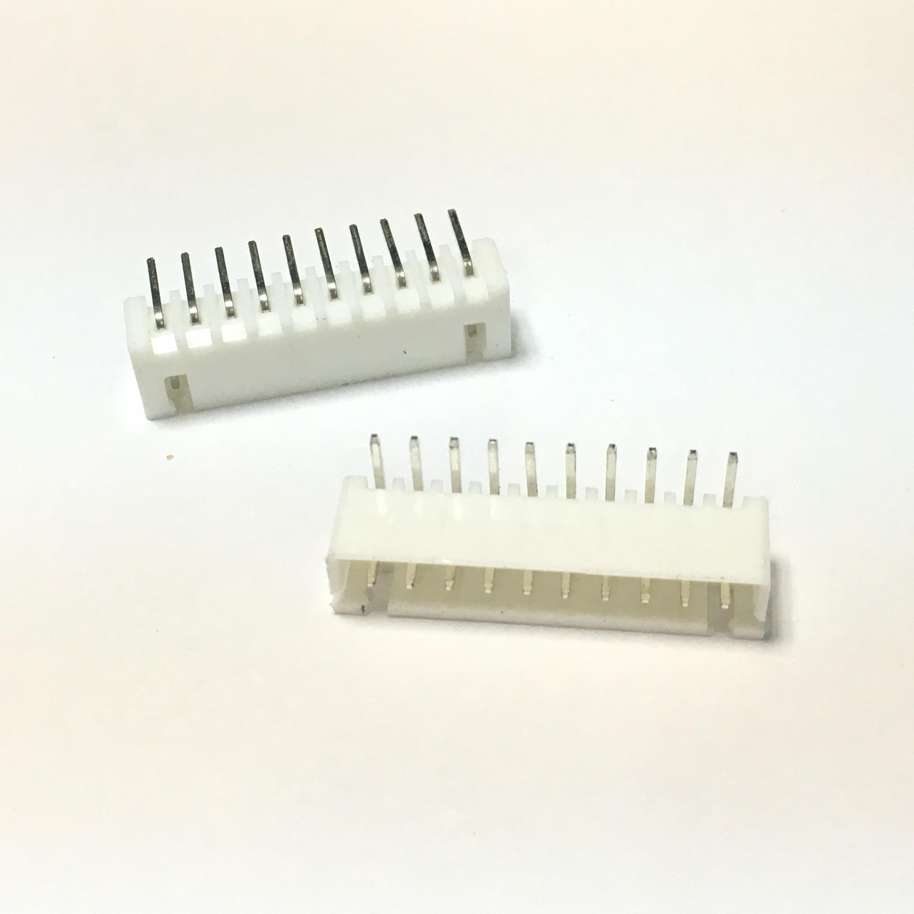 Купить с кэшбэком XH2.54 2/3/4/5/6/7/8/9/10/11/12/13/14/15/16 Pin 2.54mm Pitch Right Angle Male Pin Header Connector Pin Connectors Adaptor