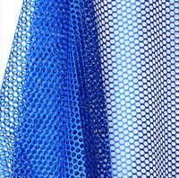 Bán buôn 6 màu sợi Polyester túi lưới net vải với một lưới lớn vải chắp vá vá tecido linen in ấn nhuộm C411