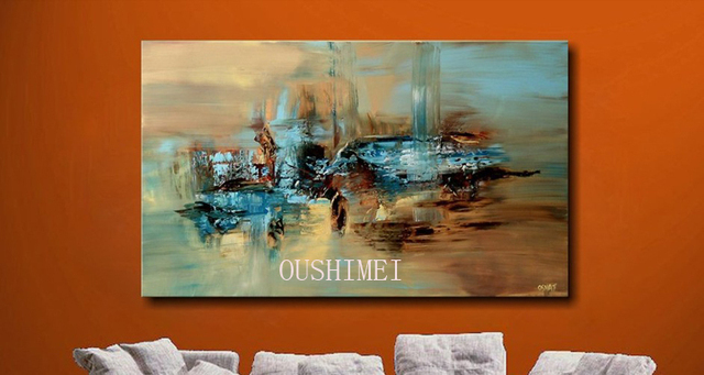 Aliexpress.com : Buy 100% Handmade Abstract Oil Painting