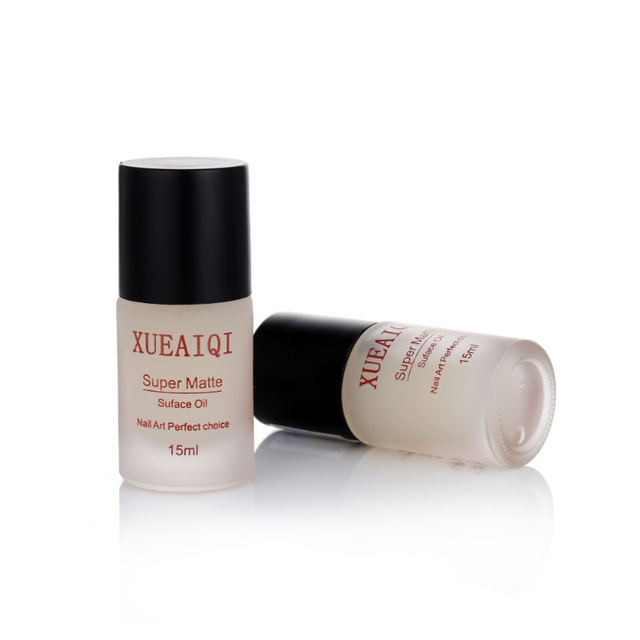 15ML Transfiguration Matte Top Coat Nail Polish Frosted Surface Oil Lacquer Professional Nail Art Enamel Cosmetics