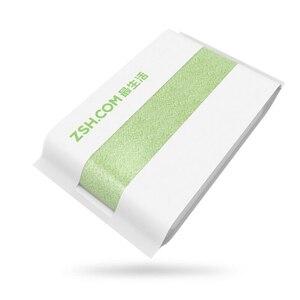 Image 4 - 100% New Original Youpin ZSH Bath Towel Facecloth Cotton Towel Youpin Young Beach Towel Washcloth Antibacterial Water Absorption