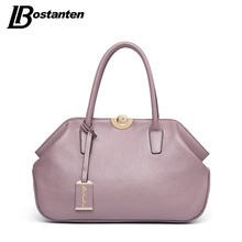 BOSTANTEN Designer Genuine Leather Bags Ladies Famous Brand Women Handbags High Quality Tote Bag for Women