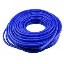 Tubo de vácuo de silicone, nova 4mm 16.4ft/5m tubo de mangueira de carro acessórios do sistema de resfriamento da mangueira