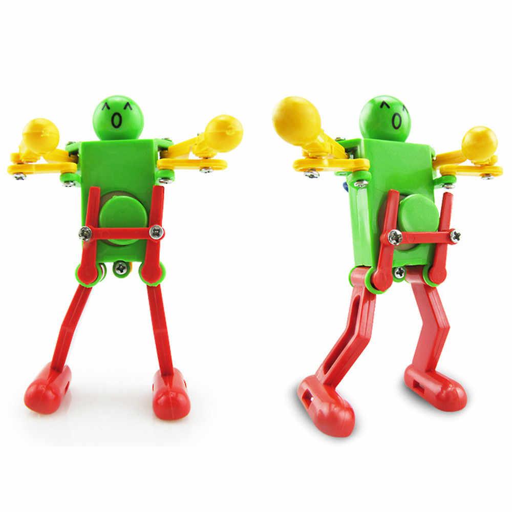 Zabawka dziecięca mechaniczna Wind Up tańczący robot zabawka dla dziecka dzieci rozwojowy prezent Puzzle zabawki wielkie szczęście prezent DropShipping