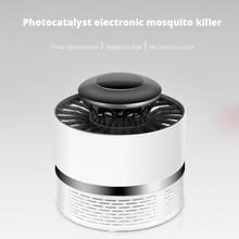 Photocatalyst Mosquito Killer Lamp Silent Repeller Led Night Light Insect Trap Fly Killer For Household Pregnant Women & Babies
