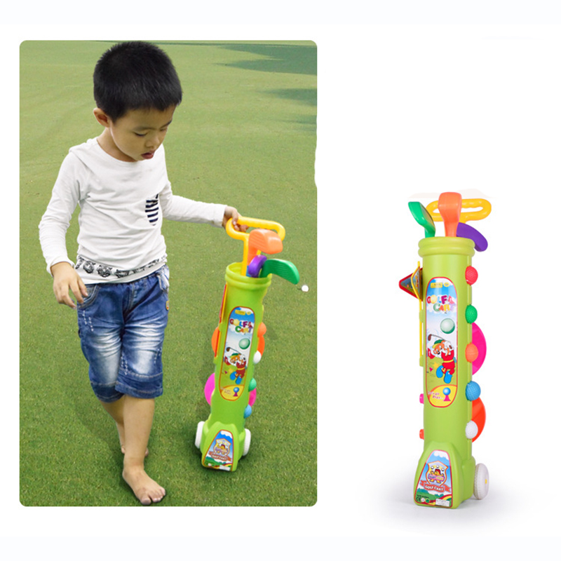 Baby fitness golf toys / children indoor outdoor sports toys ball/baby toys for children/kids gifts