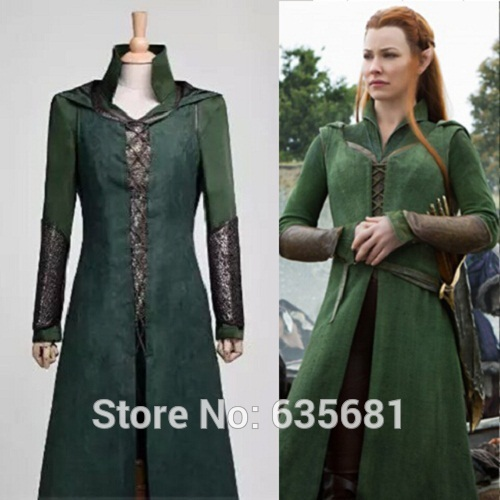 cos the hobbit desolation of smaug cosplay costume tauriel