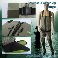 Maximumcatch Trango Zip Fishing Wader Additional Durability In  L, XL Size Fly Fishing Breathable Wader