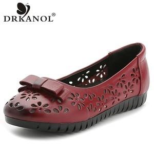 DRKANOL Summer Slip On Flats B