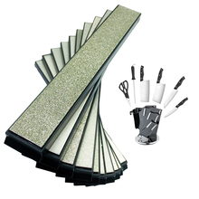 7 шт. кухонный нож Портативный Apex Pro точилка для карандашей Алмазный точильный камень шлифовальный точильный камень 80-2000грит