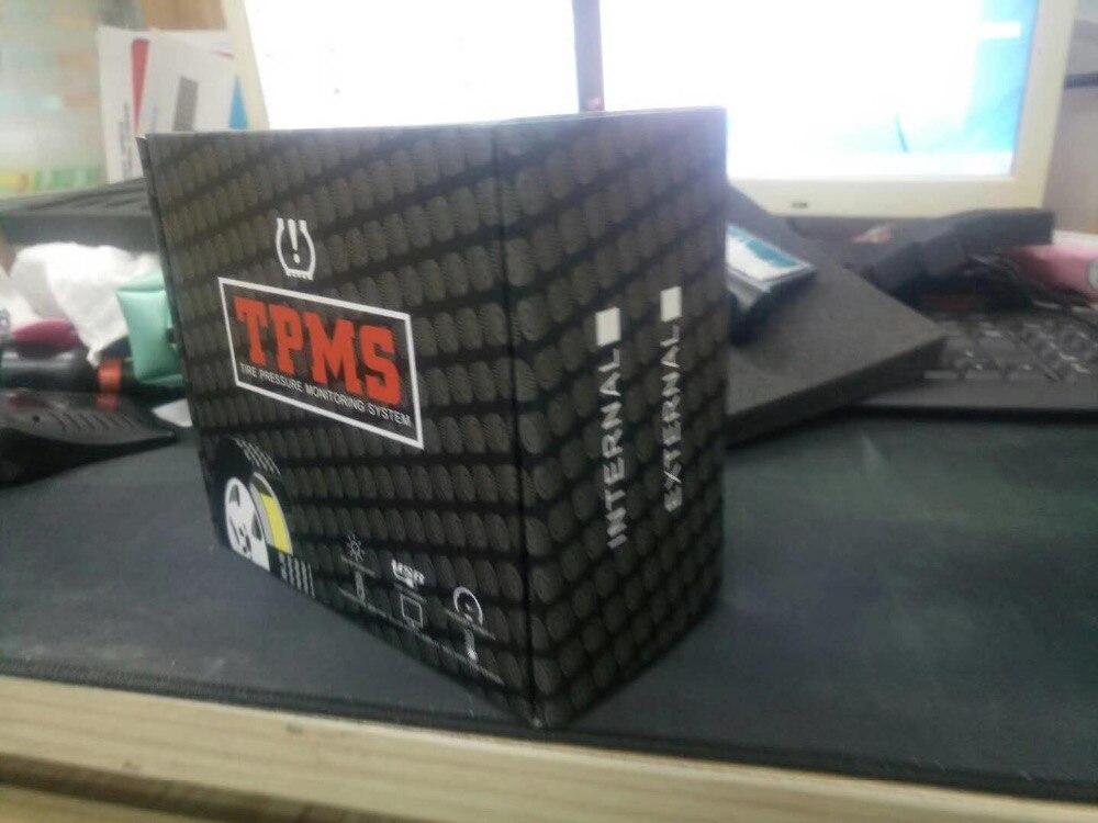 Solar Energy Smart Car TPMS Tire Pressure Monitoring System Digital LCD Display Auto Security Alarm Systems External Sensor