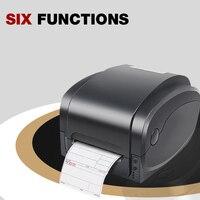 Термальность Штрих принтер этикеток для ценники клей ювелирных стикер бирка 203 точек/дюйм печати width104mm GP1124T
