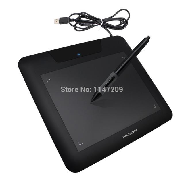 2017 Huion 680 s 8x6 Polegadas Digital Desenho Gráfico Tablet Desenho Dos Desenhos Animados Placa Gráfica Comprimidos Preto