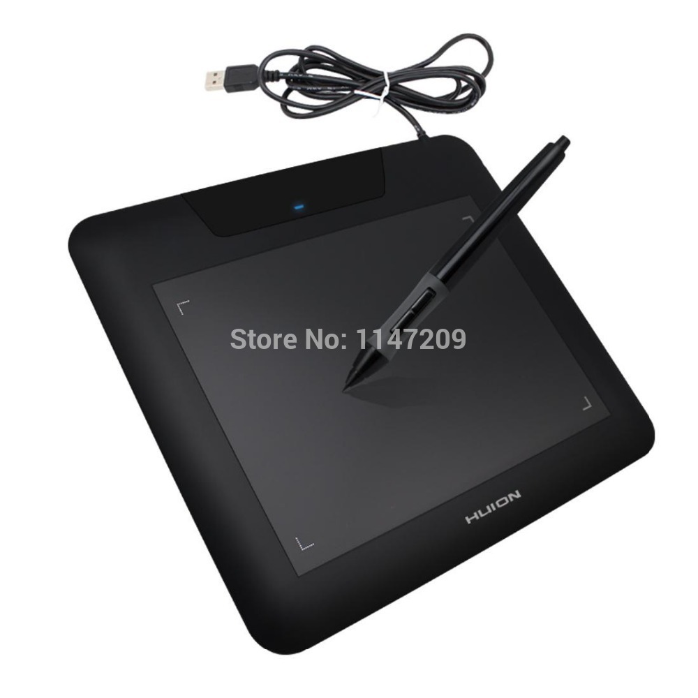 2017 Huion 680s 8 x 6 Inches Digital Graphic Drawing Tablet Cartoon Drawing Board Graphics Tablets Black