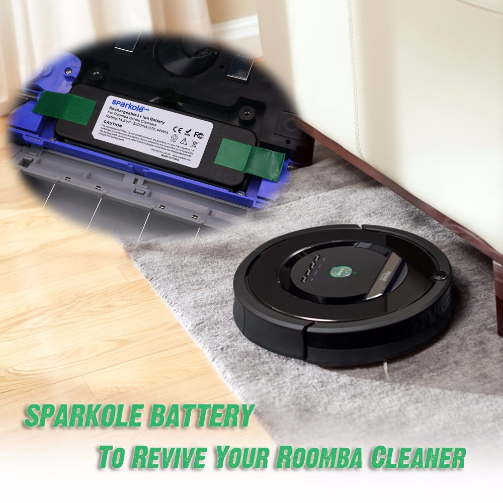 Roomba low battery 0 cedar spin mop