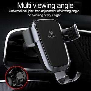Image 5 - Biaze Автомобильный держатель для телефона 10 Вт Qi Беспроводное Автомобильное зарядное устройство для iPhone XS Max X XR 8 быстрое автомобильное беспроводное зарядное устройство для Samsung Note 9 S9 S8
