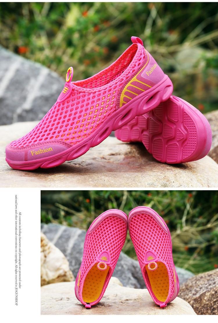 Men Casual Shoes Sneakers Fashion Light Breathable Summer Sandals Outdoor Beach Vacation Mesh Shoes Zapatos De Hombre Men Shoes