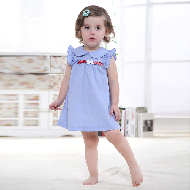 e38f16dca Happy Easter Summer Retail Baby Girls Dress Infant 100% Cotton ...