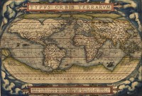 High Quality World Map Oil Painting On Canvas Vintage Poster Print For Home Decor Picture Decoratives