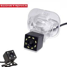 8LED Автомобильная CCD камера ночного видения HD резервная Водонепроницаемая камера заднего вида для hyundai Verna Solaris Sedan для KIA FORTE 2009-2011