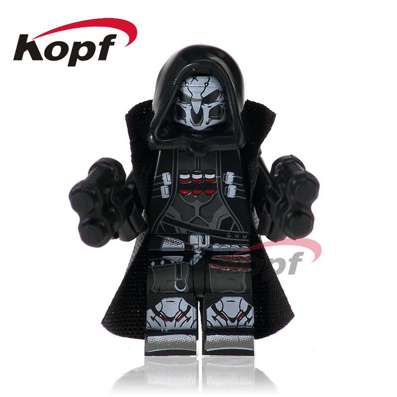 Single Sale Super Heroes Reaper Dark Red Armed Deadpool Laura Bricks Action Figures Building Blocks Children Gift Toys PG242 super heroes single sale the villain of yellow lantern skeletor heman he man he man building blocks toys for children gift kf921