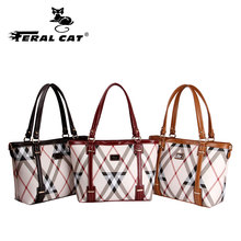 FERAL CAT Designer Handbags High Quality Shoulder Bags Ladies Fashion brand  leather women bags purses and handbags