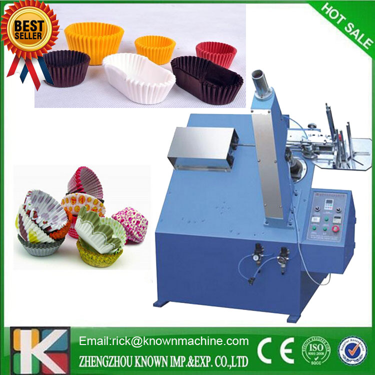 The Best Selling Full Automatic Paper Cake Box Making Machine Easy Operation, Fast Production Efficiency