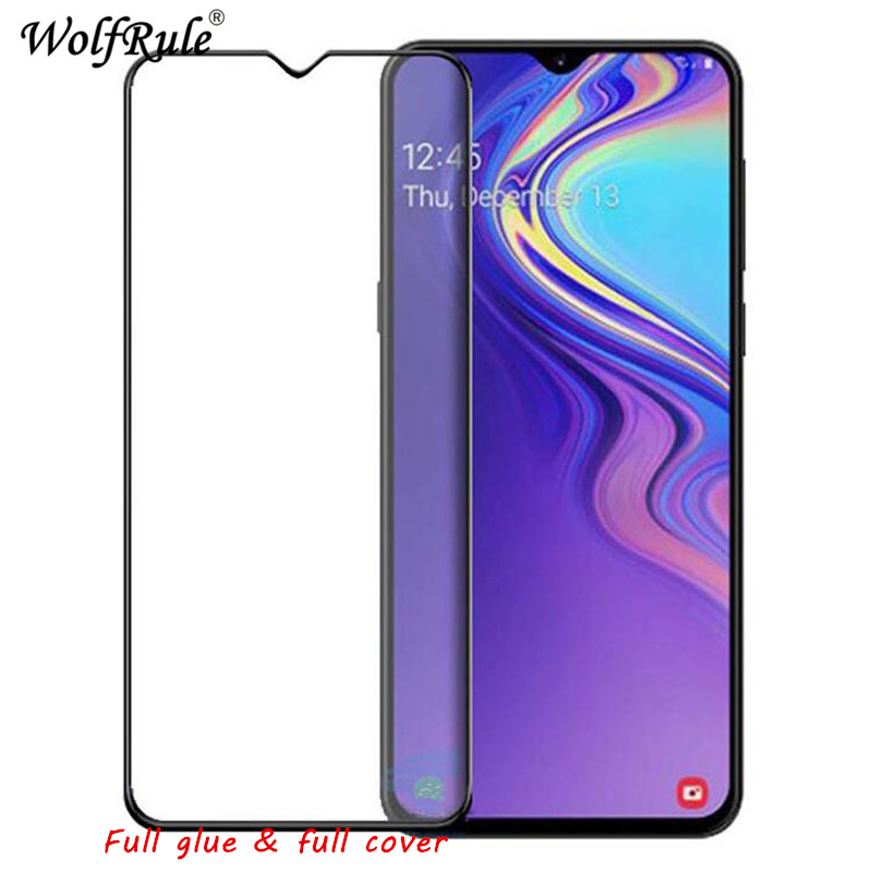 LCD Screen Protector Film For Samsung Galaxy M10 Full Glue Tempered Glass For Samsung Galaxy M10 Full Cover Glass For Galaxy M10