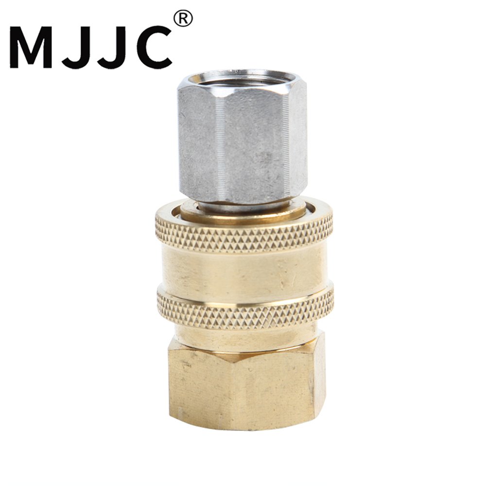 MJJC Brand with High Quality 3/8 inch quick connector and its adapter female part for foam lance foam cannon