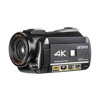 Ordro 4 К WI FI цифровой видеокамеры 3,0 ''сенсорным дисплеем WI FI Ночное Видение цифровая видеокамера
