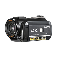 Ordro 4k WIFI Digital VideoCamera 3.0'' Touch display WIFI Night Vision Digital Video Camcorder
