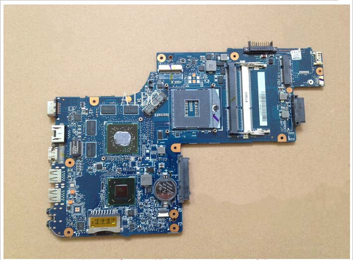100% tested good!laptop motherboard for toshiba satellite C850 L850 H000052630 HM76 AMD HD7610M DDR3  motherboard for toshiba qosmio f60 flesy3 p000536690 100% tested good