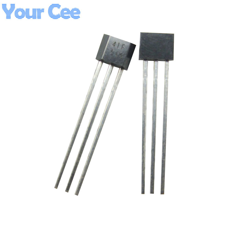 20 pcs 41F/ 0H41 / SH41 / SS41F/ S41 Bipolar Hall Element Sensor Motor Electric Car Moto ...