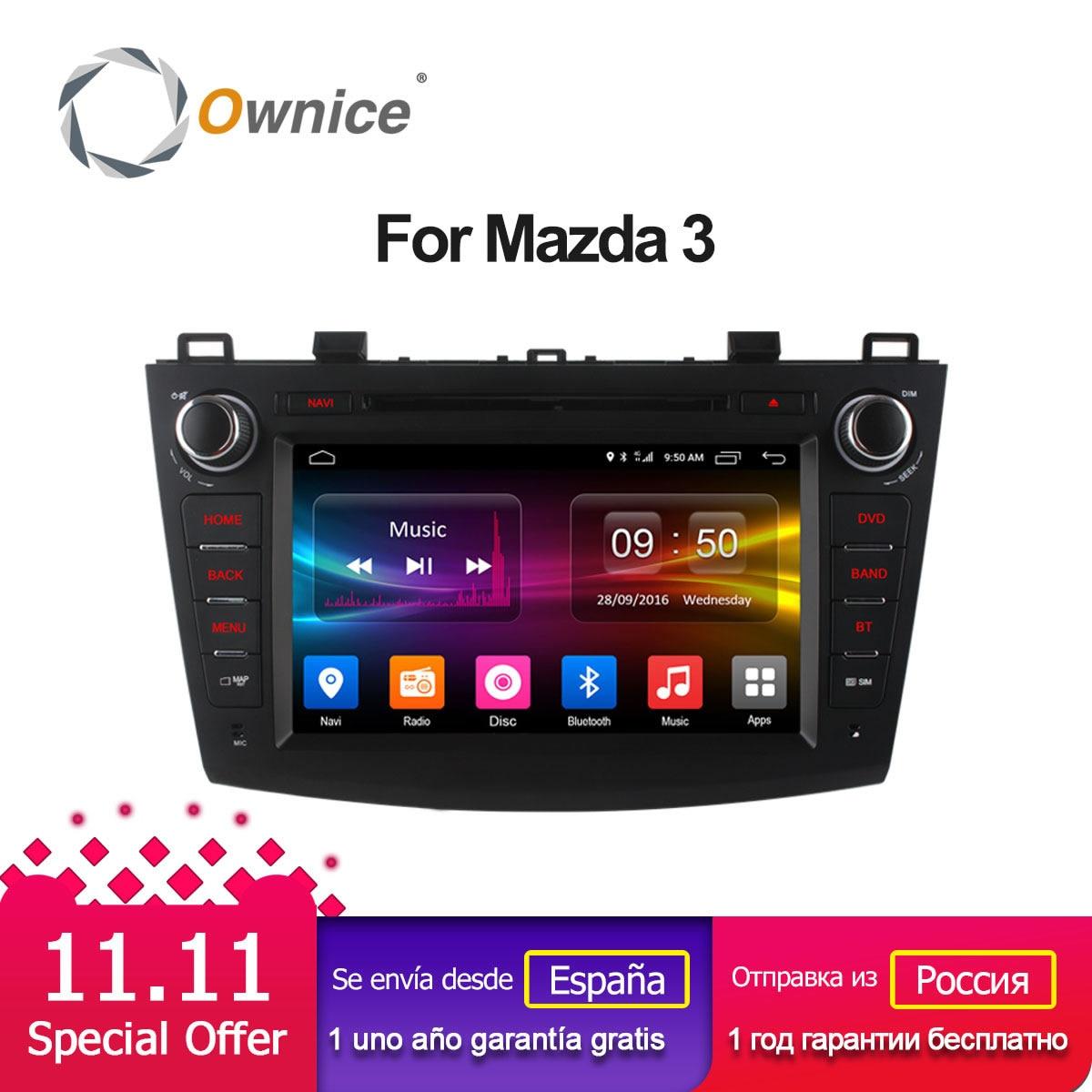 Ownice C500 Octa 8 Core Android 6.0 Car DVD player For Mazda 3 2008-2013 WIFI Radio GPS Navi OBD DVR 2GB RAM 32GB ROM Support 4G ownice c500 4g sim lte octa 8 core android 6 0 for kia ceed 2013 2015 car dvd player gps navi radio wifi 4g bt 2gb ram 32g rom