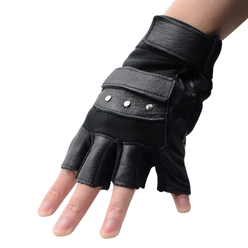 Fingerless gloves climbing - 1pair Outdoor Gloves Tactical Gloves For Men Fingerless Army Gloves Climbing Bicycle Antiskid Workout Gym Training