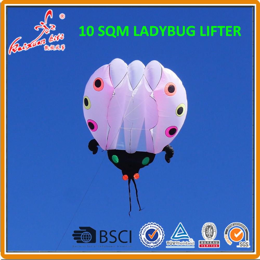 A Kite カイト us $160.0 |10平方メートル てんとう虫カイト 、 ソフト凧、 ショー凧、 リフター - aliexpress | alibaba  グループ上の おもちゃ & ホビー からの 凧 & アクセサリー の中 - 11.11_ダブル 11シングルスデイ