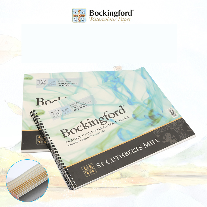 Bockingford 1Piece Watercolor Paper For Painting Drawing Wire Bound Painting Pad Professional Watercolor Paper Art Supplies professional welding wire feeder 24v wire feed assembly 0 8 1 0mm 03 04 detault wire feeder mig mag welding machine ssj 18