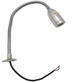 110V/220V/12V/24V  Plug In Flexible Pipe CNC Led Machine Lamp
